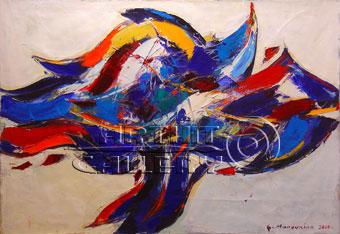 ''Эксперимент''.  Манукян Гагик. Продажа картин, предметов декоративно-прикладного искусства