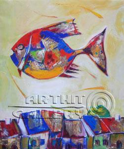 ''Полет''.  Манукян Гагик. Продажа картин, предметов декоративно-прикладного искусства