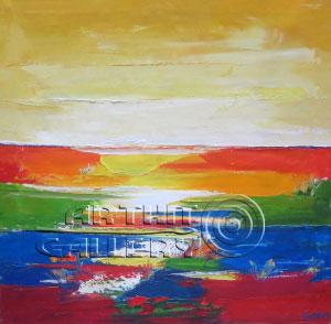 ''Горизонт''.  Манукян Гагик. Продажа картин, предметов декоративно-прикладного искусства