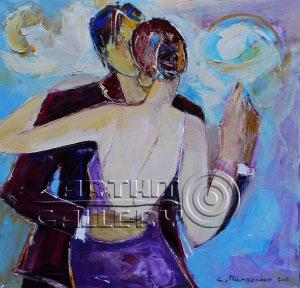 ''Влюбленные''.  Манукян Гагик. Продажа картин, предметов декоративно-прикладного искусства