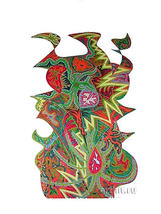 ''Весенний бриз''.  Урабе Элизабет. Продажа картин, предметов декоративно-прикладного искусства