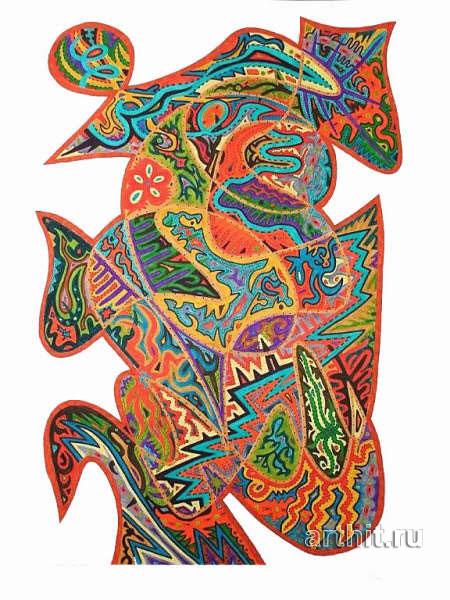 ''Осенний вальс''.  Урабе Элизабет. Продажа картин, предметов декоративно-прикладного искусства