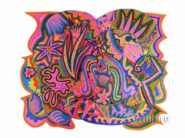 ''Точка кипения''.  Урабе Элизабет. Продажа картин, предметов декоративно-прикладного искусства