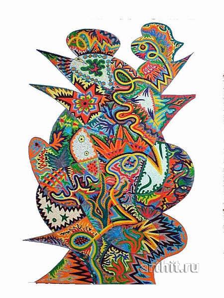 ''Дхарма''.  Урабе Элизабет. Продажа картин, предметов декоративно-прикладного искусства