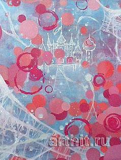 ''Ревность''.  Ямакава Юкико. Продажа картин, предметов декоративно-прикладного искусства