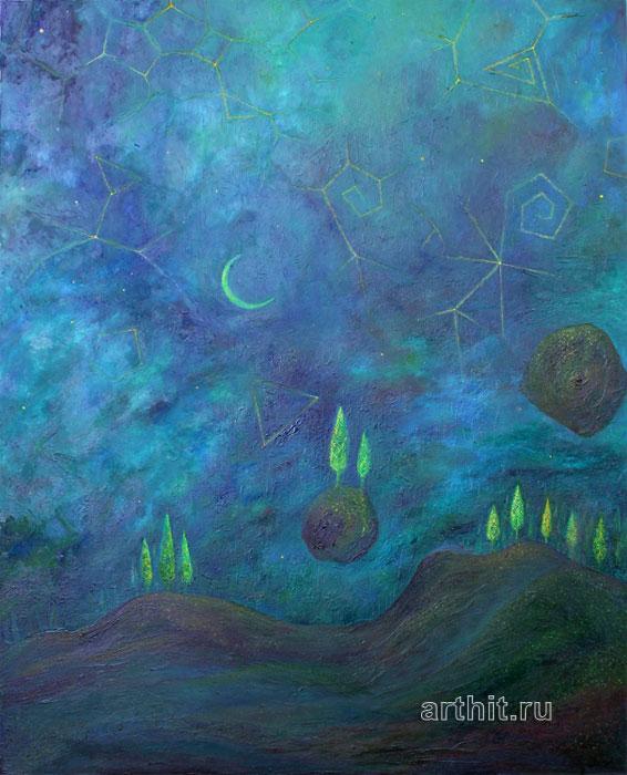 ''Сон''.  Рябов Михаил. Продажа картин, предметов декоративно-прикладного искусства