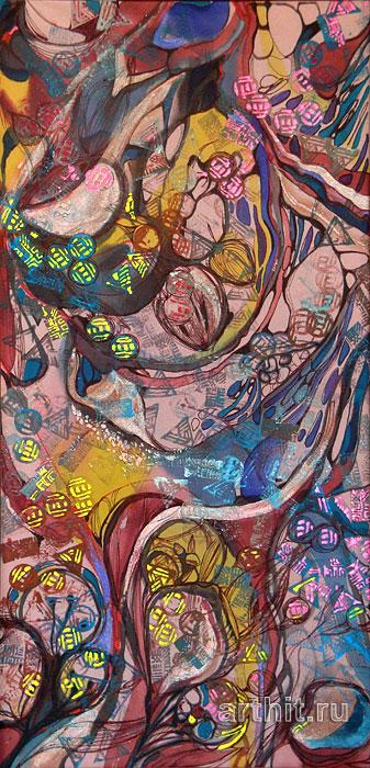 ''Эмоции''.  Манукян Инга. Продажа картин, предметов декоративно-прикладного искусства