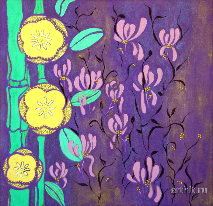 Abstract flowers paintings flickr – photo sharing