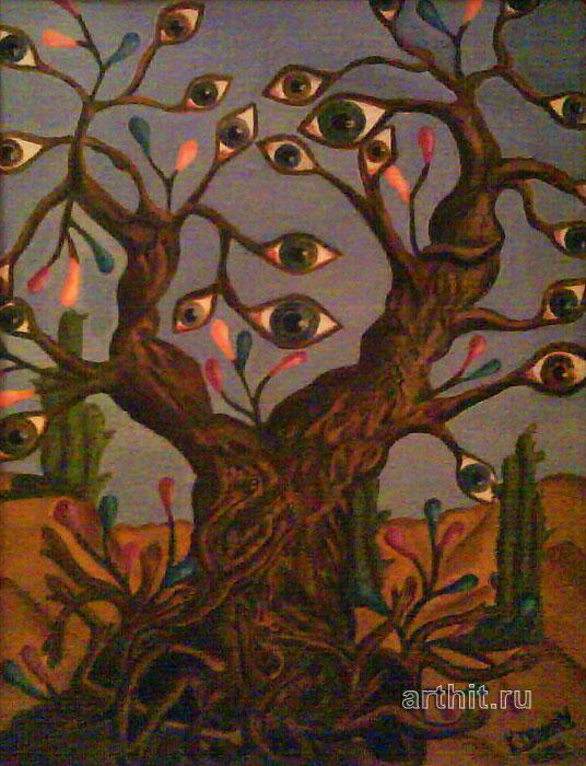 ''Живое дерево''.  Апрельская Диана. Продажа картин, предметов декоративно-прикладного искусства