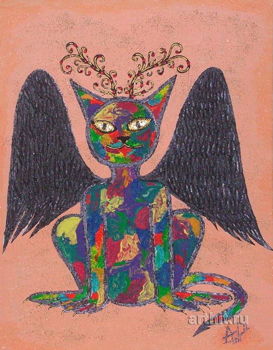 ''Ловец снов''.  Апрельская Диана. Продажа картин, предметов декоративно-прикладного искусства