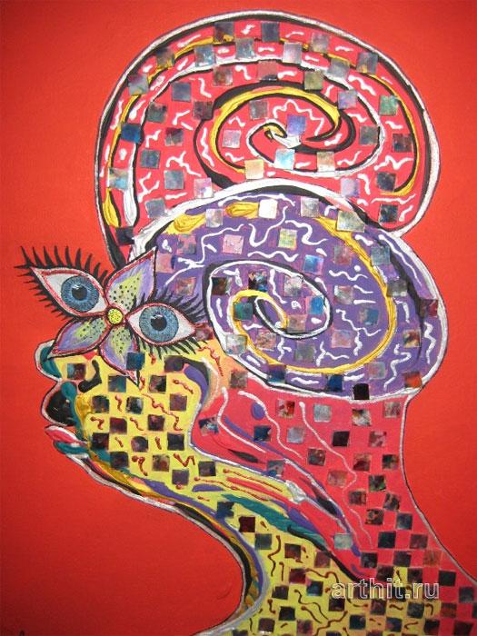 ''Женщина-Овен''.  Апрельская Диана. Продажа картин, предметов декоративно-прикладного искусства