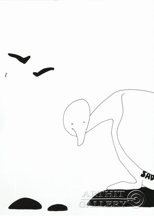 ''Sad''.  Романенкова  Виктория. Продажа картин, предметов декоративно-прикладного искусства