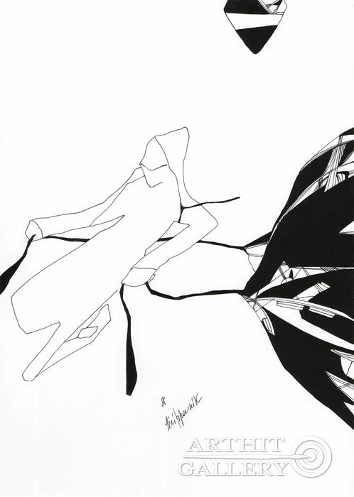 ''Arrival''.  Романенкова  Виктория. Продажа картин, предметов декоративно-прикладного искусства