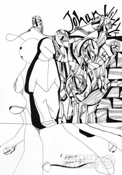 ''Johan Willy T.''.  Романенкова  Виктория. Продажа картин, предметов декоративно-прикладного искусства