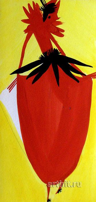 ''Серия Маскарад 1''.  Будаева Елена. Продажа картин, предметов декоративно-прикладного искусства