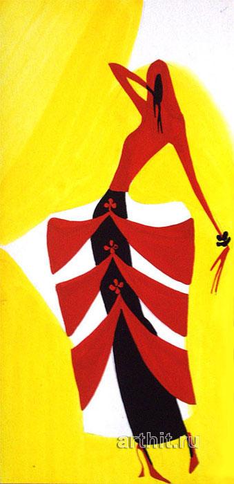 ''Серия Маскарад 2''.  Будаева Елена. Продажа картин, предметов декоративно-прикладного искусства