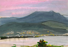 Розовый закат, Корсика