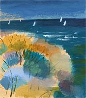 Осень, море