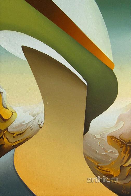 ''Незнакомка''.  Маркин Андрей. Продажа картин, предметов декоративно-прикладного искусства