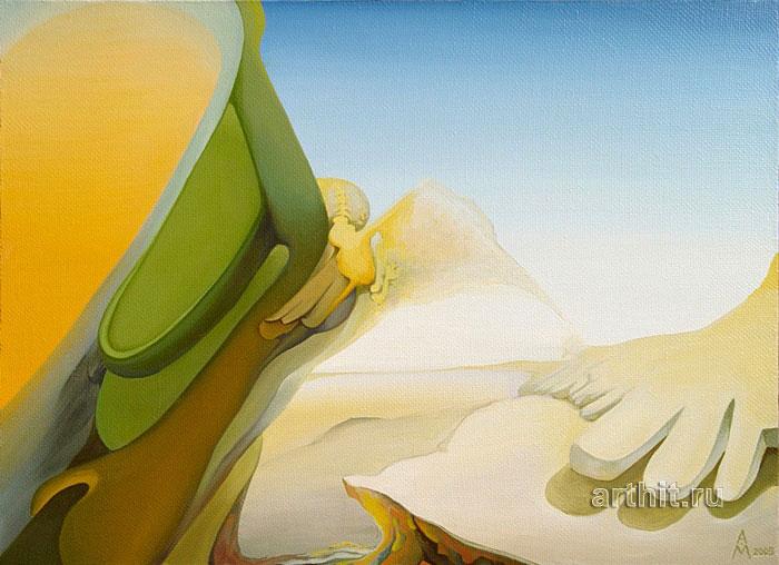 ''Утреннее приключение''.  Маркин Андрей. Продажа картин, предметов декоративно-прикладного искусства