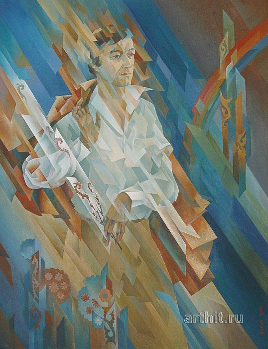 ''Поэт Лоик Шерали''.  Сабиров Закир. Продажа картин, предметов декоративно-прикладного искусства