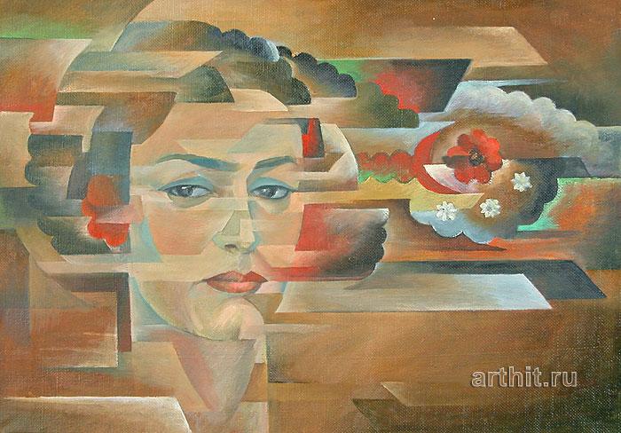 'Woman portrait'. Sabirov Zakir