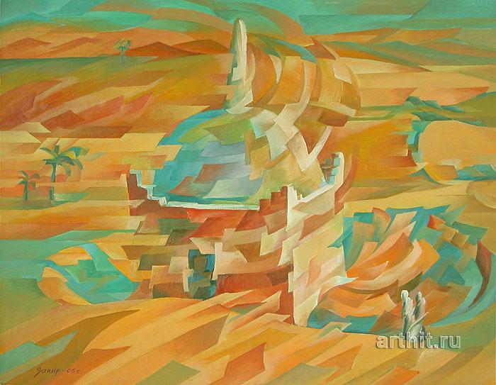 ''Марабу''.  Сабиров Закир. Продажа картин, предметов декоративно-прикладного искусства
