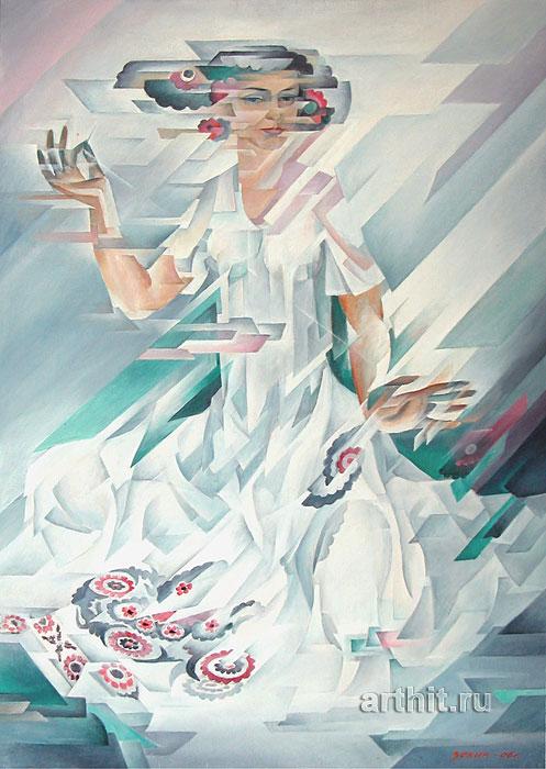 ''Весна''.  Сабиров Закир. Продажа картин, предметов декоративно-прикладного искусства