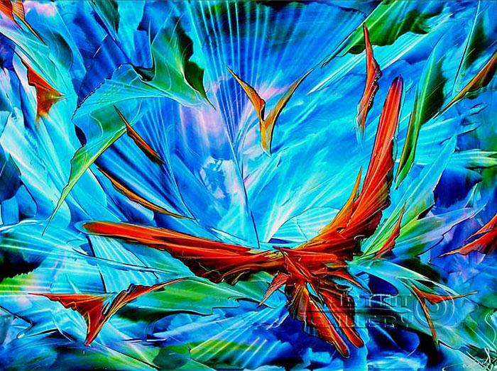 ''Ускользающий свет''.  Ромохов Владимир. Продажа картин, предметов декоративно-прикладного искусства