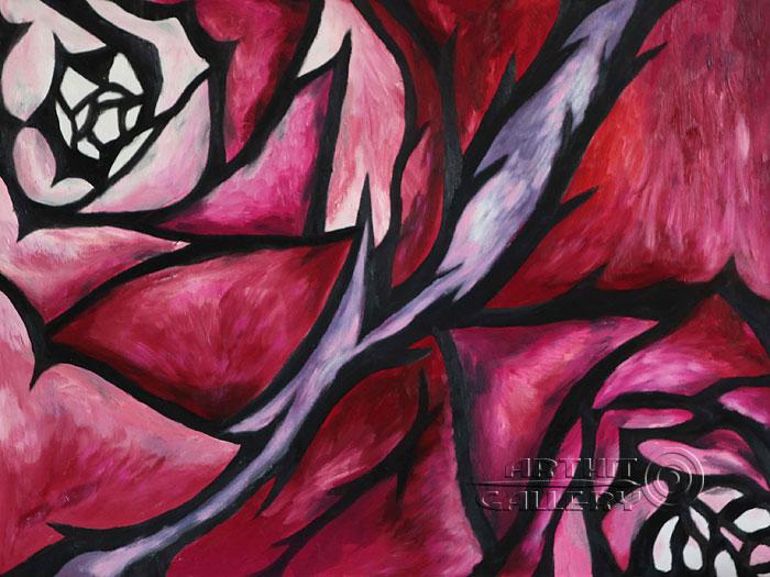 'Flowers'. Minaeva Tatyana
