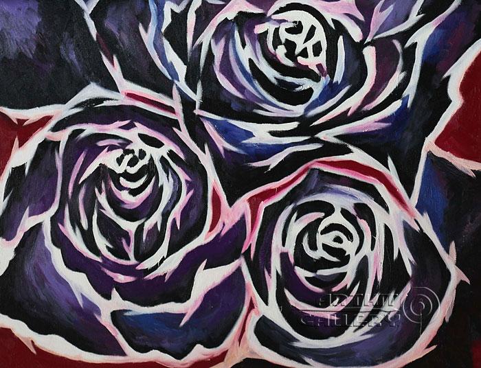 'Bouquet of roses'. Minaeva Tatyana