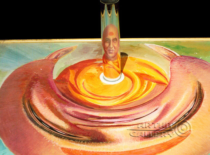 ''Индийский святой''.  Автар Сингх Вирди. Продажа картин, предметов декоративно-прикладного искусства