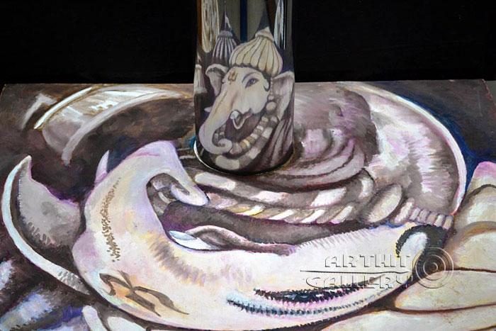 ''Ганеша-01''.  Автар Сингх Вирди. Продажа картин, предметов декоративно-прикладного искусства