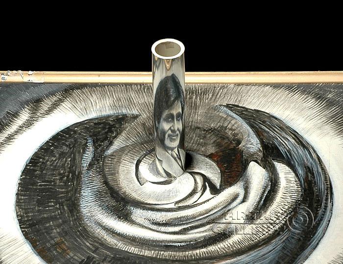 ''Амитабх Баччан''.  Автар Сингх Вирди. Продажа картин, предметов декоративно-прикладного искусства