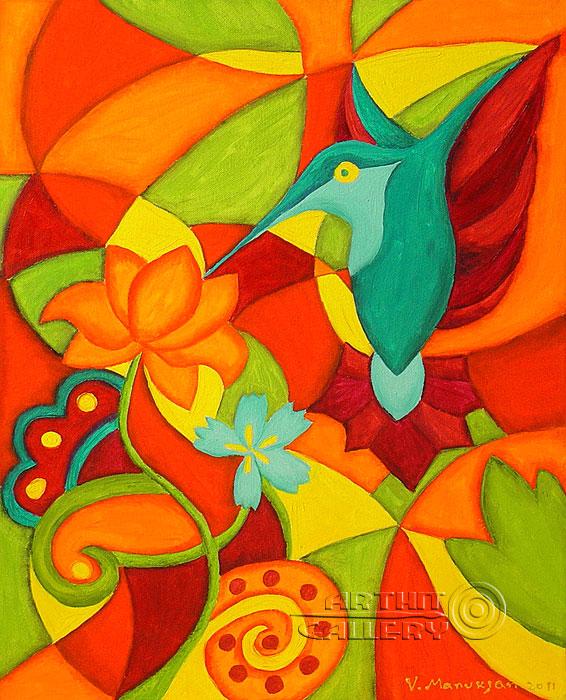 ''Гармония''.  Манукян Вероника. Продажа картин, предметов декоративно-прикладного искусства