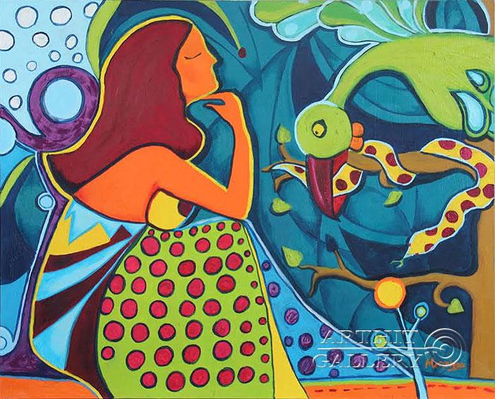 ''Гордость''.  Манукян Вероника. Продажа картин, предметов декоративно-прикладного искусства