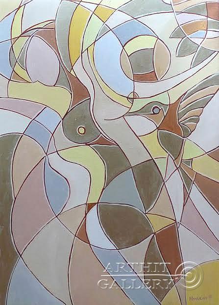 ''Ню''.  Манукян Вероника. Продажа картин, предметов декоративно-прикладного искусства
