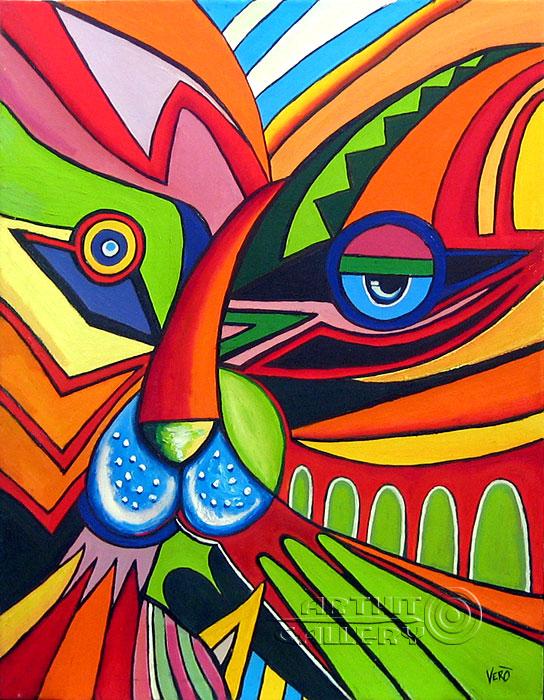 ''Тигр''.  Манукян Вероника. Продажа картин, предметов декоративно-прикладного искусства
