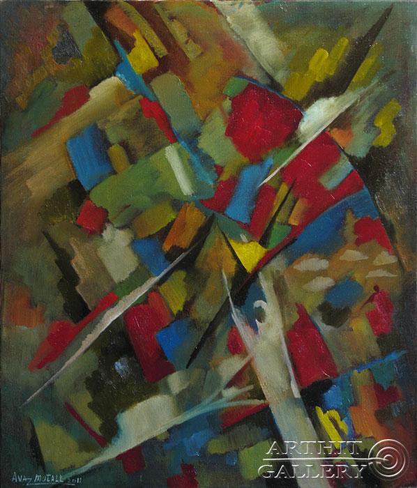 ''Импровизация''.  Усманов Аваз. Продажа картин, предметов декоративно-прикладного искусства