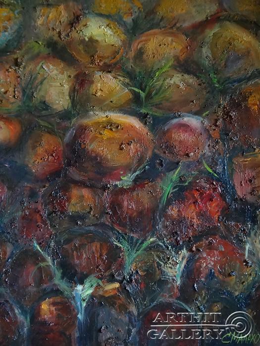 ''Ночные камни''.  Малахова Светлана. Продажа картин, предметов декоративно-прикладного искусства