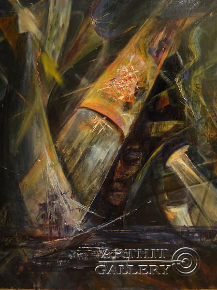 ''Повелитель морей''.  Малахова Светлана. Продажа картин, предметов декоративно-прикладного искусства