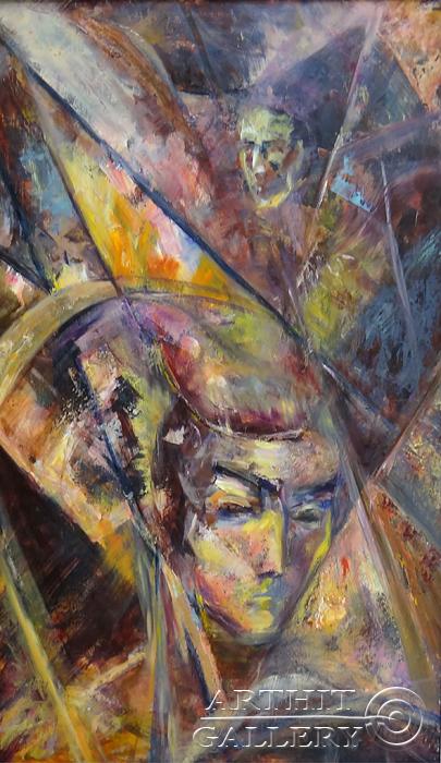 ''Муза ночного города''.  Малахова Светлана. Продажа картин, предметов декоративно-прикладного искусства