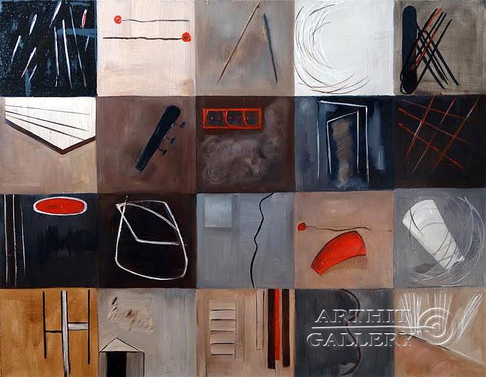 ''Мой абстрактный мир''.  Малахова Светлана. Продажа картин, предметов декоративно-прикладного искусства