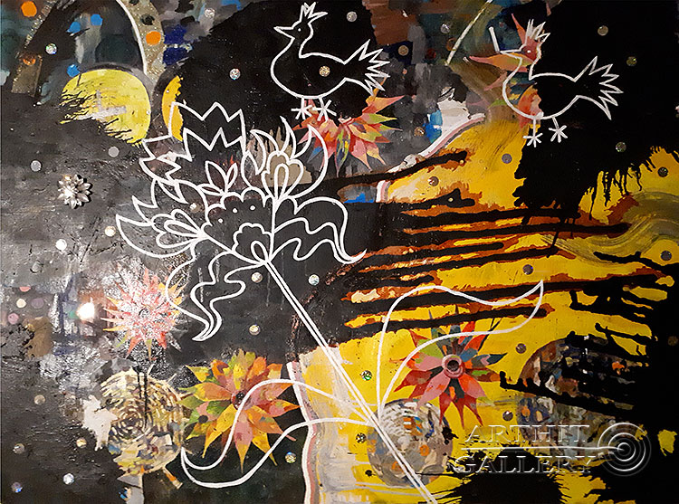 ''Traveller''.  Абрамова Ирина. Продажа картин, предметов декоративно-прикладного искусства