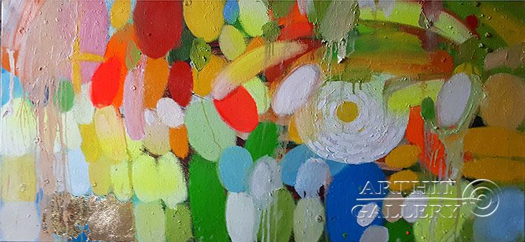 ''South. Sea. Sun''.  Абрамова Ирина. Продажа картин, предметов декоративно-прикладного искусства