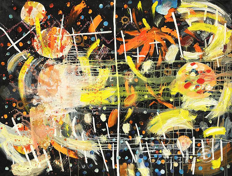 ''Переход через перевал в Долине предков''.  Абрамова Ирина. Продажа картин, предметов декоративно-прикладного искусства