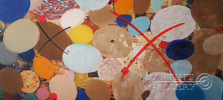 ''Плавание''.  Абрамова Ирина. Продажа картин, предметов декоративно-прикладного искусства