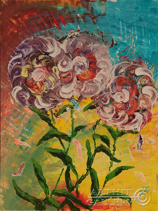 ''Вдохновение''.  Пригарина Евгения. Продажа картин, предметов декоративно-прикладного искусства