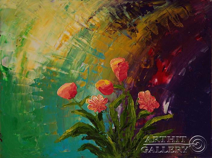 ''Любовь!''.  Пригарина Евгения. Продажа картин, предметов декоративно-прикладного искусства