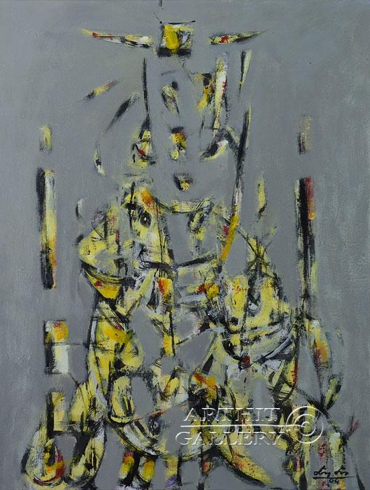 ''Портрет''.  Лео Лео. Продажа картин, предметов декоративно-прикладного искусства